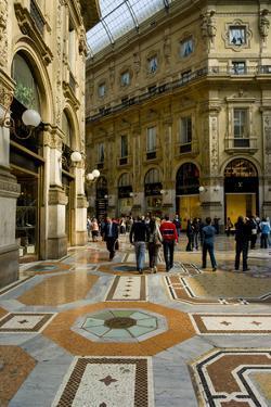 Galleria Vittorio Emanuele II Milan by Charles Bowman