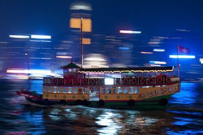 Hong Kong Junk by Charles Bowman