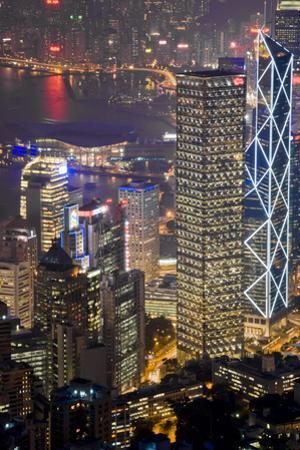 Hong Kong Night by Charles Bowman
