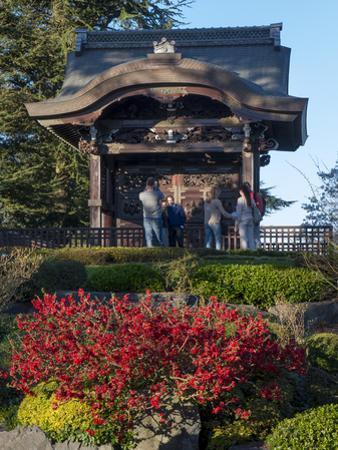 Kew Japanese Pagoda by Charles Bowman