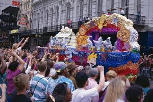 Mardi Gras, New Orleans, Louisiana, USA by Charles Bowman