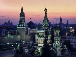 Moscow St Basils 1 by Charles Bowman