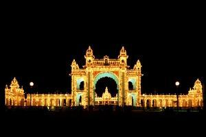 Mysore Palace by Charles Bowman