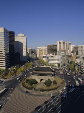 Namdaemun (South Gate), Seoul, South Korea, Korea, Asia by Charles Bowman