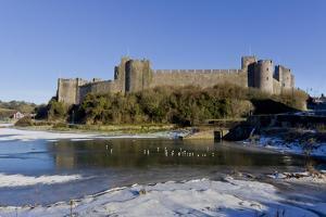 Pembroke Castle by Charles Bowman