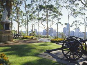 Perth from City Park, Western Australia, Australia by Charles Bowman
