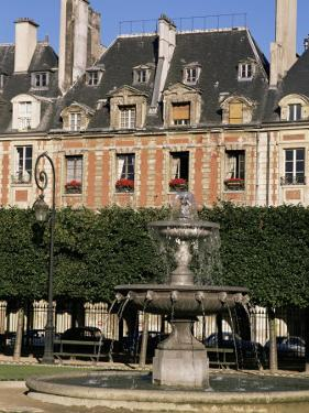 Place Des Vosges, Paris, France by Charles Bowman