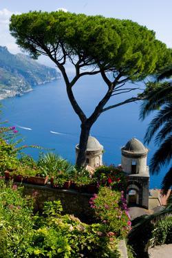Ravello Villa Rufolo Amalfi Coast by Charles Bowman