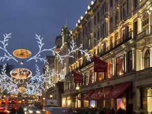Regent Street Christmas by Charles Bowman