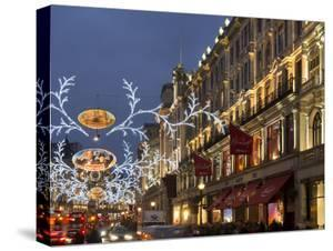 Regent Street Christmas by Charles Bowman