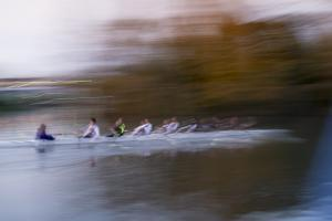 Rowing Eight by Charles Bowman