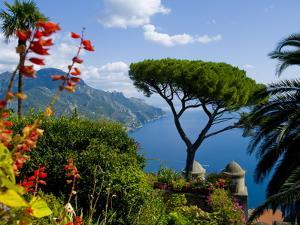 Rufolo View, Ravello, Amalfi Coast, UNESCO World Heritage Site, Campania, Italy, Europe by Charles Bowman
