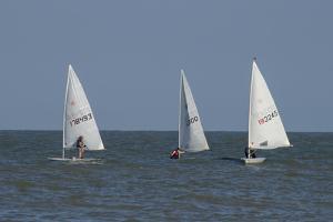 Sailboats by Charles Bowman