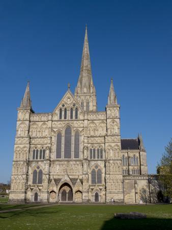 Salisbury Cathedral, Salisbury, Wiltshire, England, United Kingdom, Europe by Charles Bowman