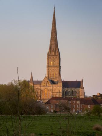Salisbury Cathedral by Charles Bowman
