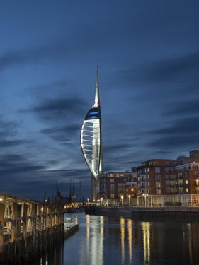 Spinnaker Tower, Portsmouth, Hampshire, England, United Kingdom by Charles Bowman