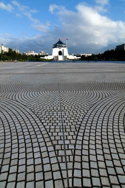 Taipei Chiang Kai Shek Memorial Hall by Charles Bowman