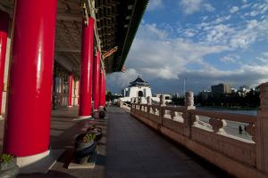 Taipei Red Pillars Chiang Kai Shek Memorial Hall by Charles Bowman