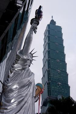 Taipei Statue Of Liberty by Charles Bowman
