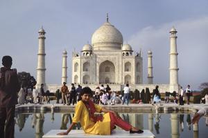 Taj Mahal Model by Charles Bowman