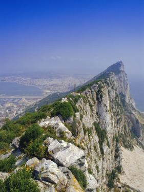 The Rock's Peak, Gibraltar, Bay of Algeciras, Mediterranean Sea, Europe by Charles Bowman