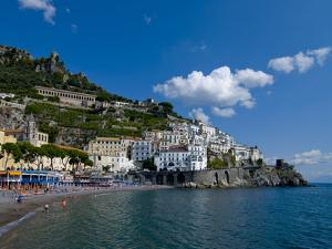 The Town of Amalfi, UNESCO World Heritage Site, Campania, Italy, Europe by Charles Bowman