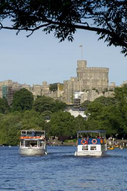 Windsor Castle by Charles Bowman