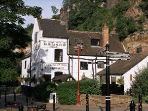 Ye Olde Trip to Jerusalem, the Oldest Inn in England, Nottingham, Nottinghamshire, England by Charles Bowman