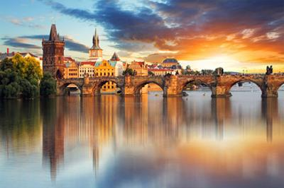 Charles bridge Czech Republic