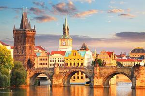Charles bridge Prague Checkia