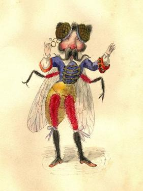 Fly 1873 'Missing Links' Parade Costume Design by Charles Briton