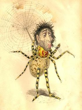 Spider 1873 'Missing Links' Parade Costume Design by Charles Briton