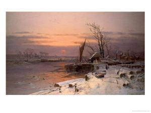 On the Estuary by Charles Brooke Branwhite