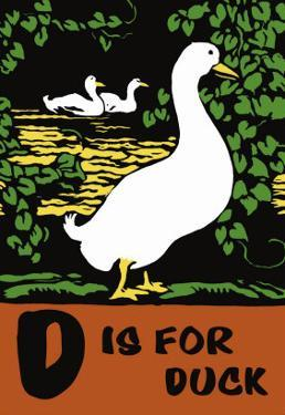 D is for Duck by Charles Buckles Falls