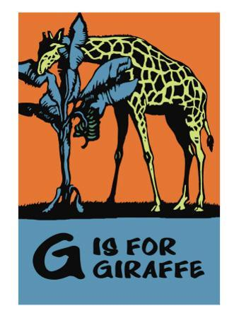 G is for Giraffe by Charles Buckles Falls