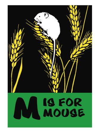 M is for Mouse by Charles Buckles Falls