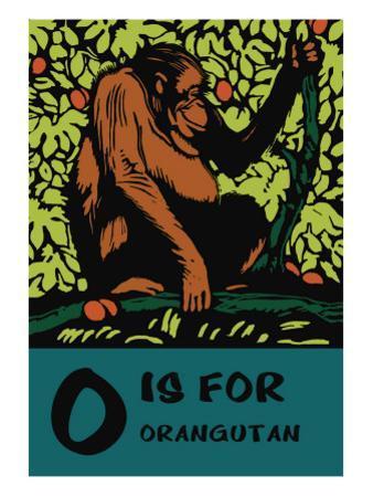 O is for Orangutang