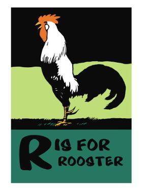 R is for Rooster by Charles Buckles Falls