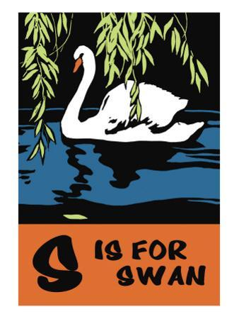 S is for Swan by Charles Buckles Falls