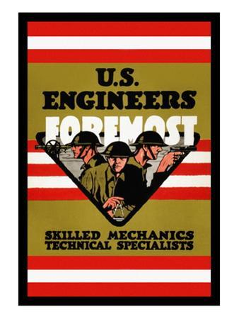 U.S. Engineers Foremost by Charles Buckles Falls