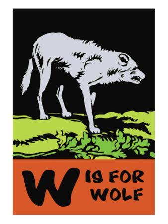 W is for Wolf by Charles Buckles Falls