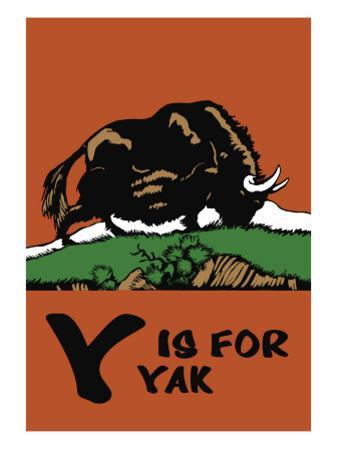 Y is for Yak by Charles Buckles Falls