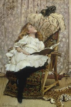 A Rival Attraction, 1887 by Charles Burton Barber