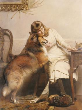 Sweethearts by Charles Burton Barber