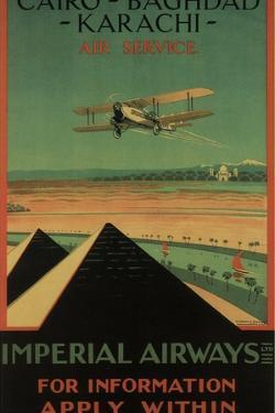 Imperial Airways, 1926 by Charles C. Dickson