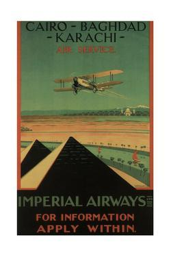 Imperial Airways, 1926 by Charles C. Dickson