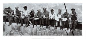 Lunch Atop a Skyscraper, c.1932 by Charles C^ Ebbets