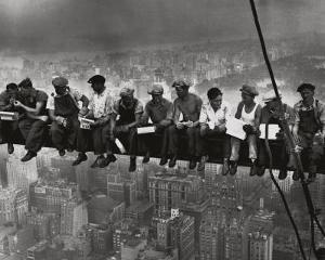 Lunchtime Atop a Skyscraper NYC by Charles C. Ebbets