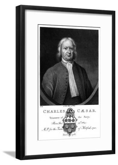 Charles Caesar--Framed Giclee Print
