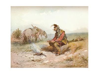 'Langham Sketch: The Bivouac, c1885